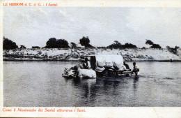I Santal. Come Il Missionario Dei Santal Attraversa I Fiumi - Bangladesh