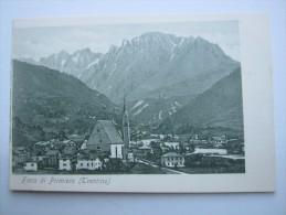 Fiera Di Primiero , Cartolina Postale   , Ca. 1900 - Trento