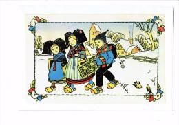 HANSI - Enfants ALSACIENNE Garçon  - ILLUSTRATION - Menu MULHOUSE 1984 S.N.E. TOUR - Restaurant - Hansi