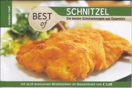 Boekje Schnitzels Met 8 Speciale Zegels En Recepten - Autriche