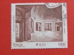 ITALIA USATI 2001 - DOMUSD AUREA ROMA - SASSONE 2556 - RIF. G 1907 LUSSO - 6. 1946-.. Repubblica