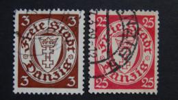 Danzig - 1938 - Mi:DA 289x,294x (o) - Look Scan - Dantzig