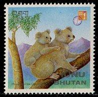 (cl. 3 - P.2)  Bhoutan ** N° 1139 (ref. Michel Au Dos) - Koalas - - Bhutan