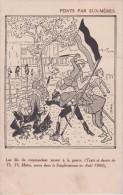 Illustrateur Th Heine - Peints Par Eux Mêmes Les Fils Du Commandant Jouent A La Guerrre (extraits Du Simplicissimus ) - Other Illustrators
