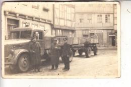 0-3720 BLANKENBURG, Photo-AK, LKW, 1944 - Blankenburg