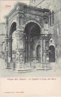 Italy Siena Palazzo della Signoria La Cappella in basso alla Tor