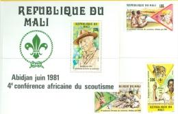 Mali 1981 4th African Scouting Conf., Abidjan MNH** - Lot. B211 - Mali (1959-...)