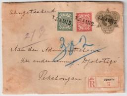 NL-India, 1912, Registered, Scarce Postmark , # 4572 - Indes Néerlandaises