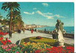 Sanremo (Imperia, Liguria) Passeggiata Imperatrice, Imperatrice Promenadealond The Sea - San Remo