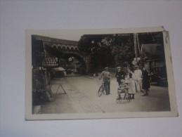 Belle Photo Carte De Beauraing.Commerces Friture Bière.Taxée à Peruwelz En 1936.(2 Scans). - Beauraing
