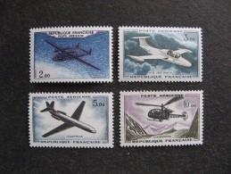 TB Série PA N° 38 Au N° 41, Neufs XX. - 1960-.... Neufs