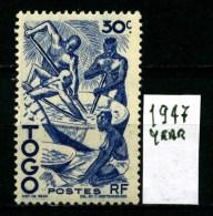 TOGO - Repubblique TOGOLAISE - Year 1947 - Nuovo -news- MNH**. - Togo (1960-...)
