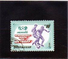 1986 Russia - Campionati Mondiali In Mexico - 1986 – México