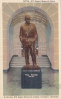 Oklahoma Claremore Will Rogers Memorial Statue Will Rogers Memor
