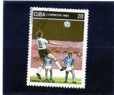 1982 Cuba - Campionati Mondiali In Spagna - 1982 – Espagne