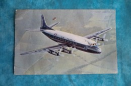 """CPA AVION. Vickers """"Viscount"""" Compagnie AIR FRANCE. - 1946-....: Ere Moderne"""
