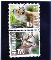 2014 Svizzera - Animali - Gebraucht