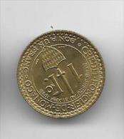 1 Franc Hercule Brz 1924 - Monaco
