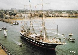 50 Cherbourg Sortie Du Belem Le Jour De La Cutty Sark (Scan Recto Verso) - Cherbourg