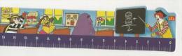 97892 RIGHELLO SEGNALIBRO MCDONALDS  1997 MADE IN FRANCE - McDonald's