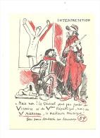 FANTAISIE - Illustrateur - Interpretation - Musiciens - Bonne Année 1959 -Humour - Accordéon, Violon, Musique   (1152) - Autres Illustrateurs