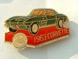 PIN´S CHEVROLET CORVETTE 1963 - Badges