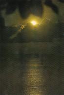 Palau Edobo Temengil Medechel Ra Rengud Waterfront Scene At Night - Palau