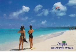 Saipan Diamong Hotel BeachScene Para Sailing - Northern Mariana Islands