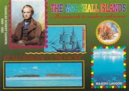 Marshall Islands Majuro Lagoon With Inset Of Charles Robert Darwin - Marshall Islands