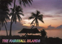 Marshall Islands Tropical Lagoon At Sunset - Marshall Islands