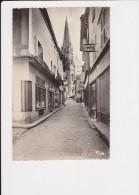 79 Parthenay La Grande Rue Et L'église St Laurent - Parthenay