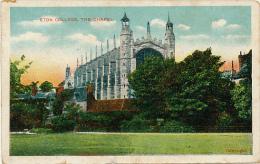 ANGLETERRE, ETON : Eton College, The Chapel (non Circulée) - Angleterre