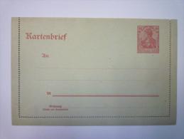 KARTENBRIEF  Deux Volets  (Etat Neuf) - Allemagne