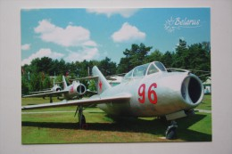 Belarus. Museum Of Aviation Technique.  MIG-15UTI  War Plane  - Modern  Postcard 2012 - 1946-....: Moderne