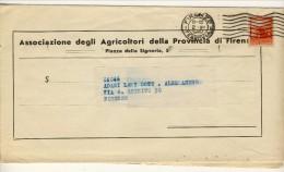 Bollettino Associazione Agricoltori 2.12.1947 Affrancato Con N. 553 L. 3 Democratica - 6. 1946-.. Repubblica