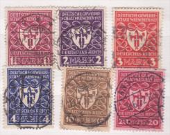 Deutsches Reich,1922, Mi 199/204, ( 1523/8) - Germania