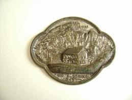 RIFUGIO A. SONINO AL COLDAI  BELLUNO   PLACCA  IN METALLO   PINS PIN'S ITALY ITALIE - Alpinismo, Arrampicata