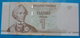 TRANSNISTRIA 1 RUBLE 2007, UNC. - Billets