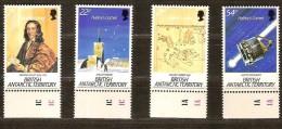 British Antarctic Territory 1986 Yvertn° 152-55 *** MNH  Cote 12,00 Euro La Comète De Halley - Territoire Antarctique Britannique  (BAT)
