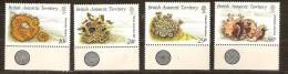 British Antarctic Territory 1989 Yvertn° 172-75 *** MNH  Cote 12,00 Euro Flore - Territoire Antarctique Britannique  (BAT)