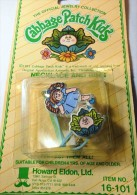 """Anello + Girocollo Bambina Di 4 Anni , Giocattolini Di Marca , 1983 , Marca """" Cabage Patch Kids """", Inusato - Altre Collezioni"""