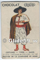 Image Chocolat COOP - Costumes - Types - Races - 2è Série - N° 149 - Bouvier De La Campagne De Rome - Autres