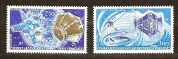 Terres Australes TAAF 1977 Yvertn° LP PA 49-50 *** MNH  Cote 10,00 Euro - Poste Aérienne
