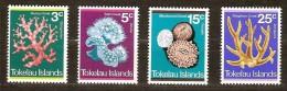 Tokelau 1973 Yvertn° 37-40 *** MNH Cote 100 FF Flore Coraux Koralen - Tokelau
