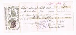 1915 - CAMBIALE BANCA DI SAN BENEDETTO DEL TRONTO (AP)  - RIF.J - Letras De Cambio