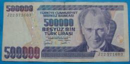 TURKEY 500,000 LIRA 1970 VF, - Turquie