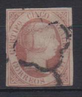 02097 España Edifil 9 O Catalogo 375,-  MAGNIFICO - 1850-68 Reino: Isabel II