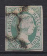 02099 España Edifil 11 O Catalogo 720,- MAGNIFICO - 1850-68 Reino: Isabel II
