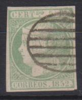 02101 España Edifil 15 O Catalogo 180,- MAGNIFICO - 1850-68 Reino: Isabel II
