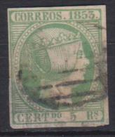02104 España Edifil 20 O Catalogo 170,- - 1850-68 Reino: Isabel II